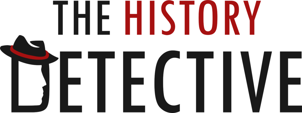 The History Detective logo a Family history House & land Mining history Bendigo researcher