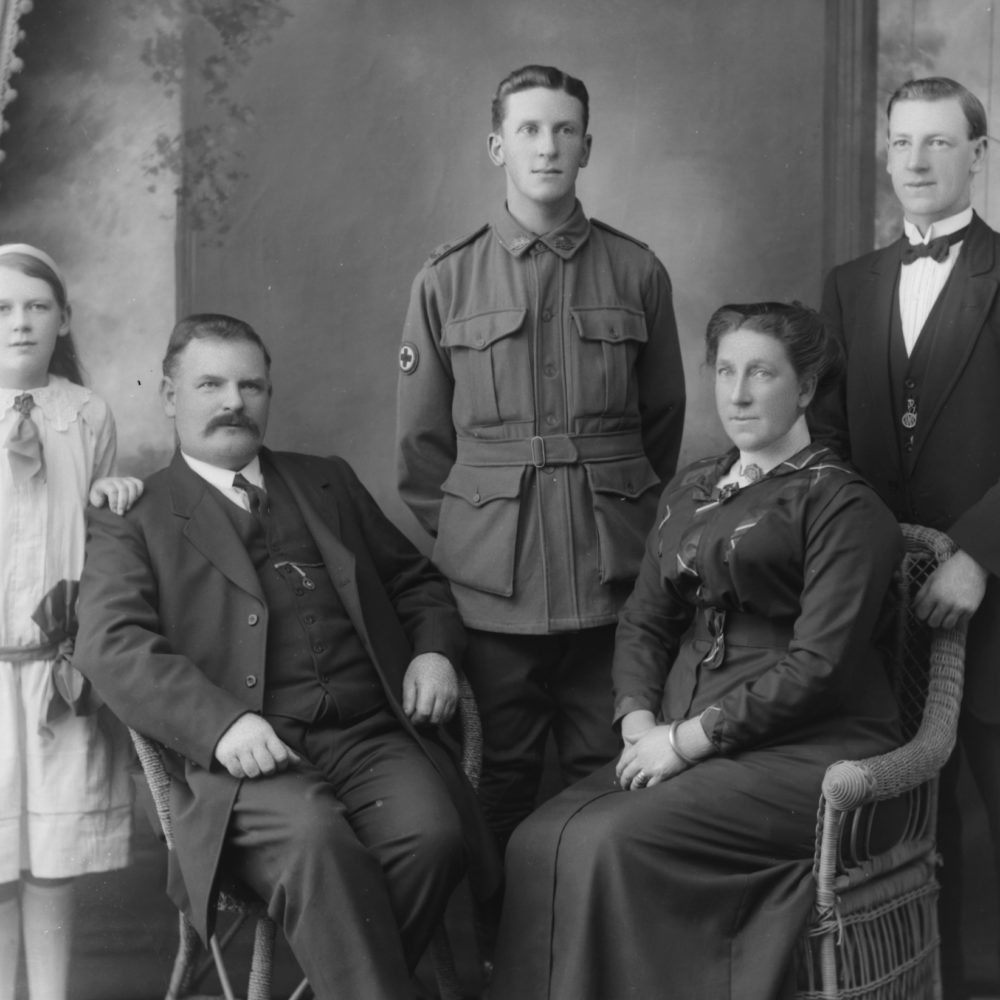 Image of Family history research Bendigo historic researcher local Derek Reid of Central Victoria