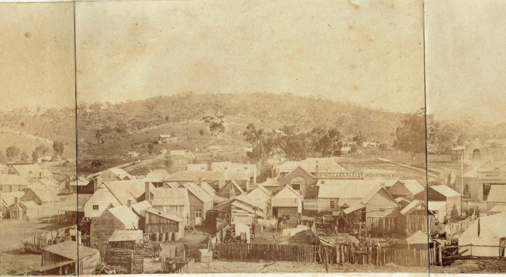 Maldon 1860 Panorama